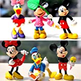 Disney Mickey & Minnie Character Display Figure Toy Cake Topper Decor Collection
