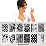 MoYou-London Nail Art Image Plate Pro XL Collection - 03