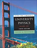 Sears and Zemansky's UNIVERSITY PHYSICS (Volume One) (Tenth Edition) (0201603292) by Hugh D. Young