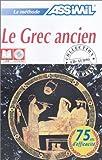 echange, troc Assimil Collection Sans Peine - Le Grec ancien sans peine (1 livre + coffret de 4 CD)