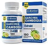 G-Biotics Garcinia Cambogia reines Extrakt - HOCHGRADIGES Ergänzungsmittel für den