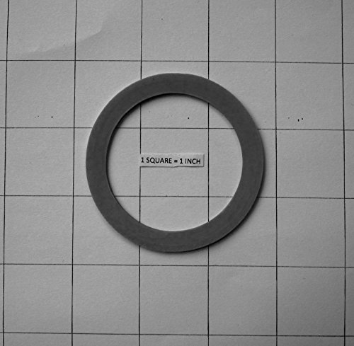 Rubber O-ring Gasket Seal for Oster & Osterizer, 3 Pack (Osterizer Seal Ring compare prices)