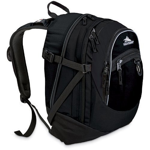 High Sierra Fat Backpack Black
