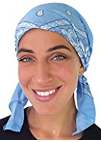 Classic Paisley Design Pre Tied Fitted Bandana Head Scarf