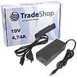 Notebook Laptop Netzteil Ladegerät Ladekabel Adapter 19V 4