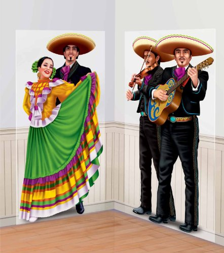 Dancers and Mariachis 65in Scene Setter Add-Ons 2ct