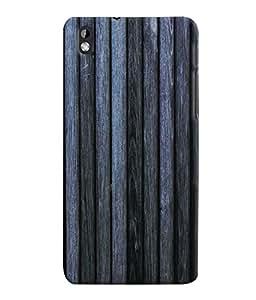 Fuson 3D Printed Wood Pattern Designer Back Case Cover for HTC Desire 816 - D595