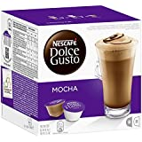 Nescafé Dolce Gusto Mocha 16 Capsules (Pack of 3, Total 48 Capsules, 24 servings)