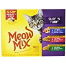 Meow Mix Surf 'N Turf Cat Food Variety Pack, 2.75-Ounce, 48-Pack