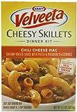 Velveeta Cheesy Skillet Pasta Dinner Kit, Chili Cheese Macroni, 11.3-Ounce (Pack of 6)