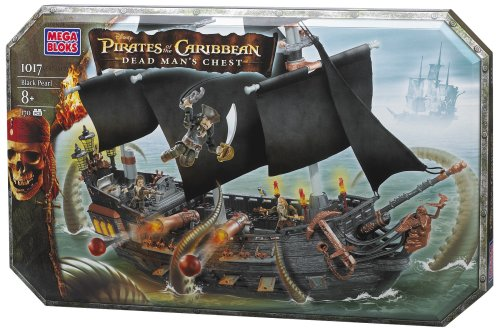 Mega Bloks Pirates of the Caribbean Black Pearl