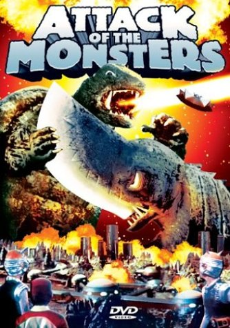 Cover art for  Attack Of The Monsters