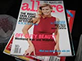 Allure Magazine (NIKI TAYLOR , Off-Duty Beauty , Good & Bad News About Caffeine, April 1998)