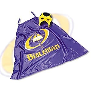 Bibleman Cape & Mask Set