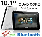 Contixo New 10.1 Inch Quad Core 1.2Ghz Processor Tablet IPS 1024x600 HD Touch Screen Bluetooth 16GB Memory Android 4.4 KitKat 1GB DDR3 HDMI 6000maH Battery Google Play Store Supported