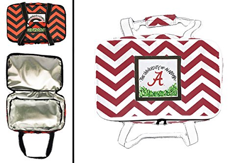 Alabama Crimson Tide Chevron Casserole Tote - 1