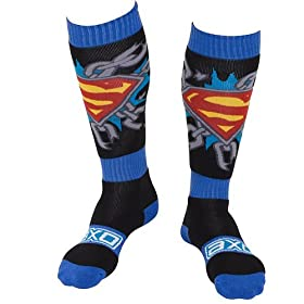 AXO Racing MX Boot Socks - Superman --20502-03-000