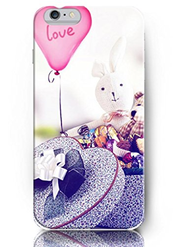 Ouo New Unique Hard Cover For 5.5 Inch Screen Iphone 6 Plus Case With Design Of Love Balloon And Candies Gift For Girl