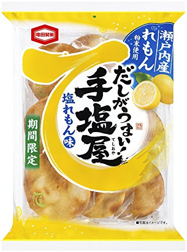 亀田製菓 手塩屋塩レモン味 9枚×12袋