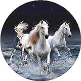 Wilde Pferde, 4x 4Ersatzrad-Abdeckung (Aufkleber