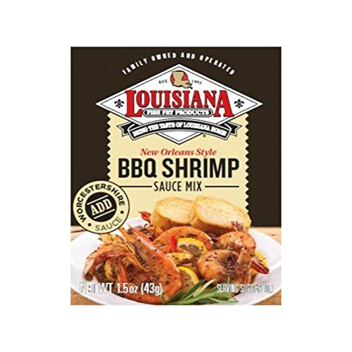 Louisiana Fish Fry BBQ Shrimp Sauce Mix, 1.5 oz (3 Pack) (New Orleans Bbq Sauce compare prices)