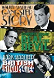 3 Classics of the Silver Screen: Vol. 9 - Gangster Story (1959) / Beat the Devil (1953) / British Intelligence (1940) [DVD]