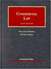 Commercial Law by William Warren