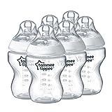 Tommee Tippee Closer to Nature - Biber�n, 260 ml (pack de 6)