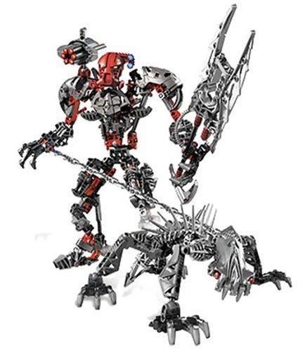One thorougly toys bionicles