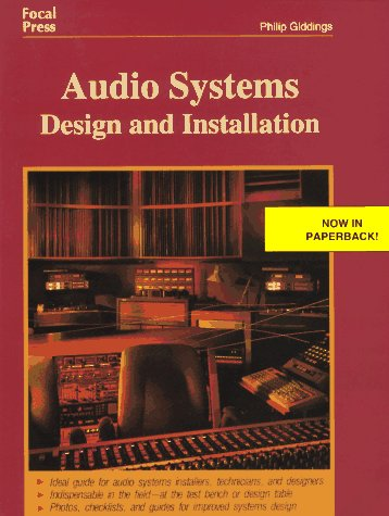 Audio Systems Design and Installation