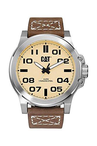 Caterpillar PS.141.35.321 - Reloj de pulsera Hombre, Cuero, color Marrón