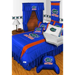 Florida Gators QUEEN Size 12 Pc Bedding Set (Comforter, 2 Pillow Cases, 2 Shams,... by Sports Coverage
