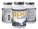 Gloryfeel - OPC Kapseln - OPC Traubenkernextrakt plus Vitamin C, 120 Kapseln reines Antioxidanz - Bedarf von 2 Monaten