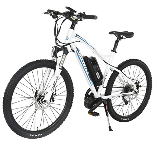 Onway-26-Inch-9-Speed-Electric-Mountain-Bike-8-Fun-350W-Brushless-Mid-position-Motor-Lithium-Battery