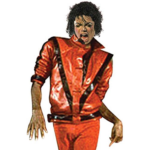 Charades Men's Michael Jackson Thriller Jacket,