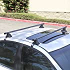 Best Choice Products® 48 Telescopic Universal Car Top Roof Cross Bars Crossbars Luggage Cargo Rack