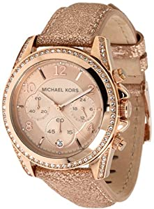Michael Kors Blair Ladies Chronograph Rose Gold Women's Watch