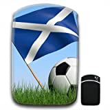 Scotland Scottish Flag with Black & White Football For Samsung Galaxy Tab 2 7.0 P3110, Google Nexus 7 & Nook HD 7