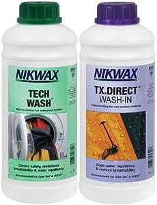 Nikwax - Tech Wash/TX Direct Wash-In Twin x 1 Lt