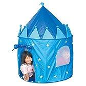 お城のテント&ポールセット ブルー