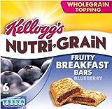Kellogg's Nutri-Grain Breakfast Bars Blueberry (6x37g)