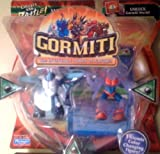 Gormiti Series 2 Mini Figure 2Pack Turtle the Seer & Darkness the Gory Random Colors