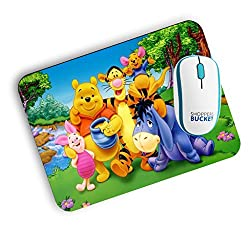 Shoppers Bucke Winnie the Poo Mousepad (FREE SHIPPING)