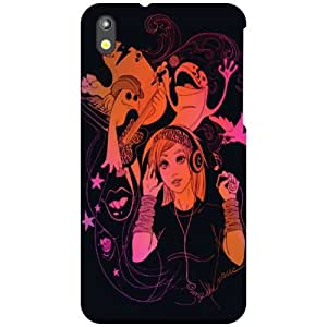Printland Music Phone Cover For HTC Desire 816G