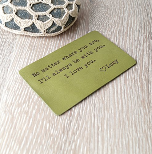 Wallet-insert-card-personalized-leather-wallet-insert-card-green-leather-wallet-insert-3rd-leather-anniversary-gift-mens-gift