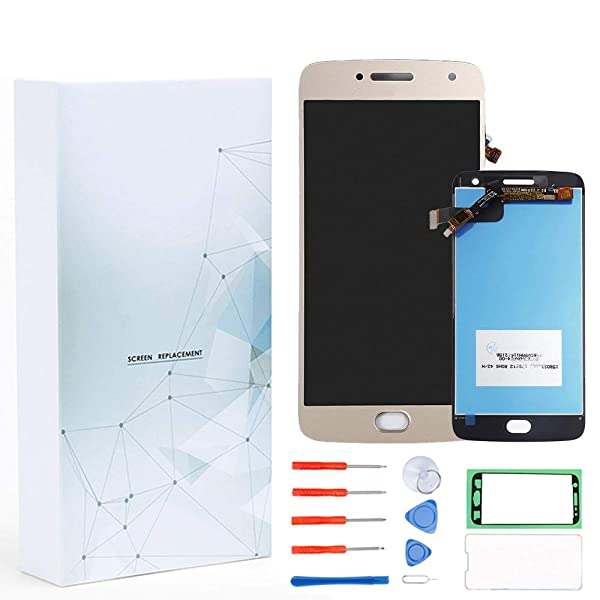 Cellphones & Telecommunications Mobile Phone Accessories 2 Color For Motorola Moto G5 Plus Xt1686 Lcd Display Screen Touch Digitizer