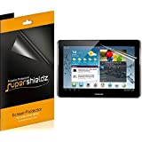 [3-Pack] SUPERSHIELDZ- High Definition Clear Screen Protector for Samsung Galaxy Tab 2 10.1 inch + Lifetime Replacements Warranty [3-PACK] - Retail Packaging
