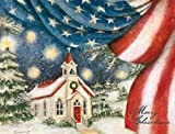 Lang Perfect Timing An American Christmas Boxed Christmas Cards, 18 Cards with 19 Envelopes (1004691)