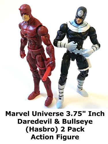 "Review: Marvel Universe 3.75"" Inch Daredevil & Bullseye (Hasbro) 2 Pack Action Figure on Amazon Prime Video UK"