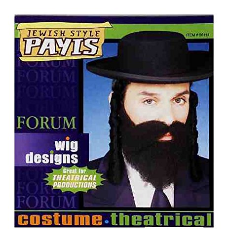 Forum Novelties Men's Adult Jewish Payes Costume Accessory